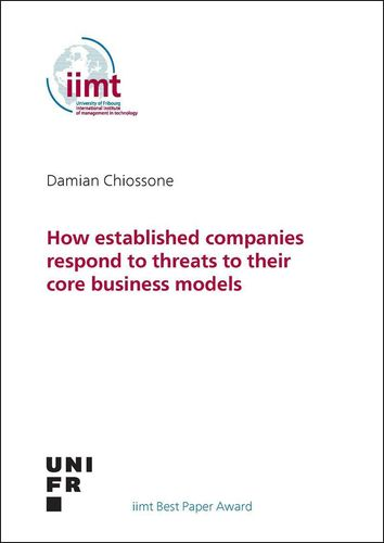 Damian Chiossone: How established companies respond to threats to their core business models