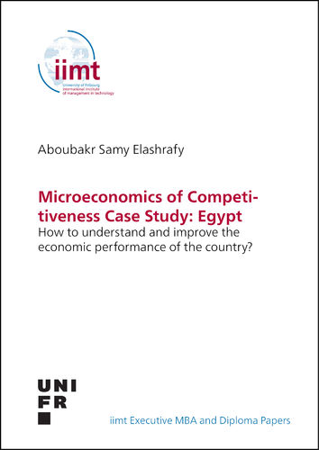 Aboubakr Elashrafy: Microeconomics of Competitiveness Case Study: Egypt