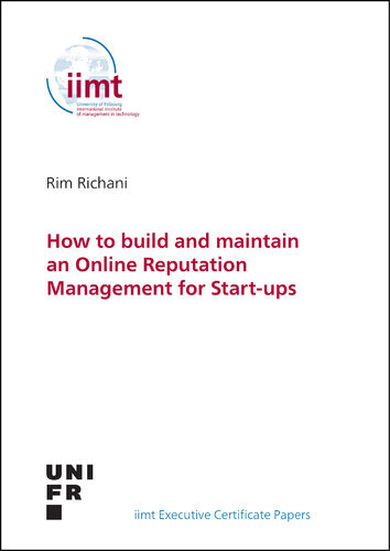 Rim Richani: How to build and maintain an Online Reputation Management for Start-ups