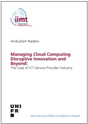 Andualem Nadew: Managing Cloud Computing Disruptive Innovation and Beyond