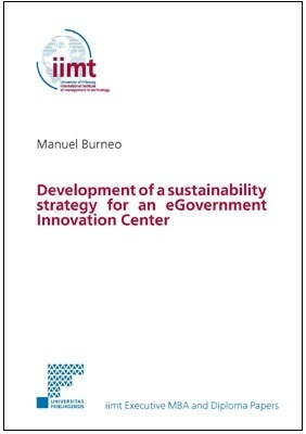 Manuel Burneo: Development of a sustainability strategy for an eGovernment Innovation Center