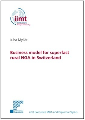 Juha Mylläri: Business model for superfast rural NGA in Switzerland iimt