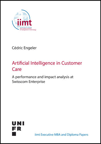 Cédric Engeler: Artificial Intelligence in Customer Care